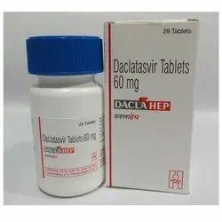 60 Mg Daclahep Tablet, Prescription, Treatment: HepC