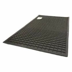 Black Rubber Electrical Mat - 6 MM