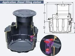 Oil/ Fuel Separator Ns 1.5 According To Kessel Standard For Underground Installation
