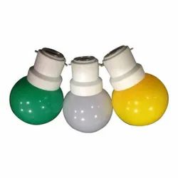 Ceramic Colour Changing 0.5W Coloured LED Bulb, For Home