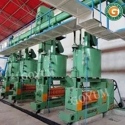 Fully Automatic Oil Manufacturing Plant