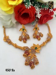 Party Wear Imitation Necklace Set