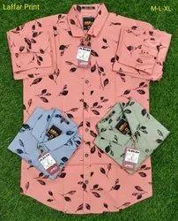 Medium Cotton Mens Checked Shirt XL Size For Men