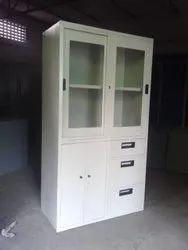 Steel And Glass Door Cupboard