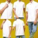 Polo T Shirts White
