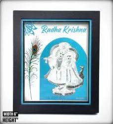 9999 silver Radha krishna Frames