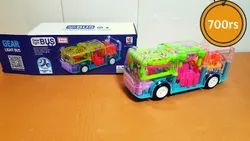 BUY Multifunctional Toy Bus with Mechanical Gears Simulation