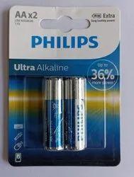 Philips Alkaline AA Batteries