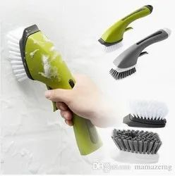 Kitchen Cleaning Brush With Dispenser