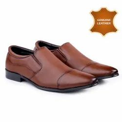 827 MIX COLOUR Mens Leather Slip On Shoes, Size: 6 To 10
