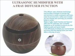 Humidifier  with a fray diffuser function