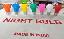 7 W Wall Mounted Colored LED Night Bulbs