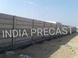 Industrial Precast Boundary Wall