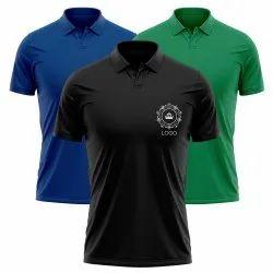 Company Logo Polo T Shirt