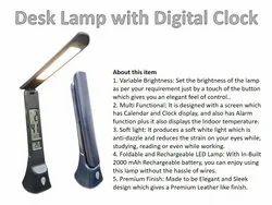 Desk Lamp with Digital Clock