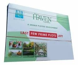 Aluminum Outdoor Promotional Banner, For Advertising