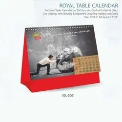 2021 English Table Calendar, For Office use & Promotion Use
