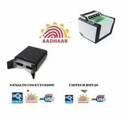 Thales Cogent CS500F & CMITECH BMT20 Dual IRIS Aadhar Kit