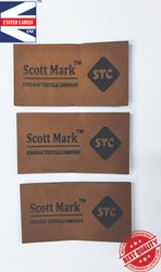 Custom sewing tags