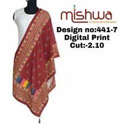 Ladies Dupatta Fabric