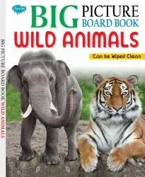 Big Picture Board Book Wild Animals Can Be Wiped Clean