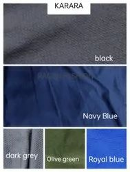 Plain / Solids Karara Polyester Knitted Fabric, Multicolour