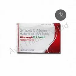 Glibenclamide IP 5MG, Metformin Hydrochloride IP 500mg Tablets