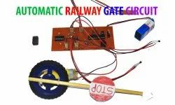 Automatic Railway Level Crossing Gate Controller Model
