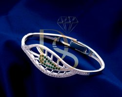 Designer Silver Ladies Kada