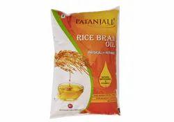 Patanjali Rice Bran edible cooking Oil 1l