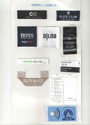 Woven Printed Labels