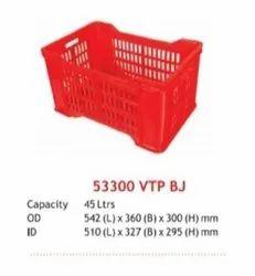 Fruit Vegetable Plastic Crates