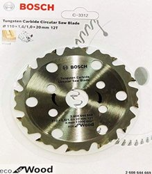 Bosch Tungsten Carbide Circular Saw Blade, For Wood Cutting, 30