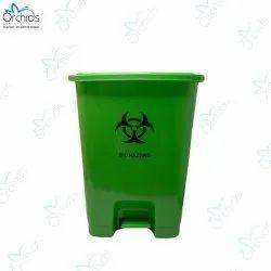Orchids Bio Waste Dust Bin 30 Litres (Green)