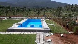 FRP Prefabricated Swimming Pool Of Size 50x20