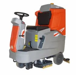 Roots Scrub RB650 - Compact Ride On Scrubber Driers