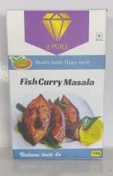 JJ Pure 100g Fish Curry Masala, Packaging Type: Box