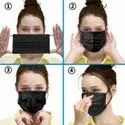 Disposable Masks 3 Ply Layer With Nose Clip Meltblown Ultrasonic Use And Throw Masks