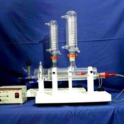 Double Glass Distillation Unit