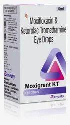 Moxifloxacin And Ketorolac Tromethamine Eye Drops
