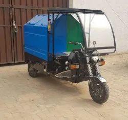 Electric Rickshaw For Garbage Collection 300 kg