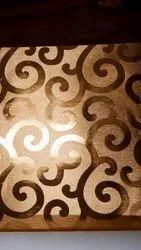 NONWOVEN Tile Pattern Goldan wallpaper, For Hotel, Size: 57 Sqft