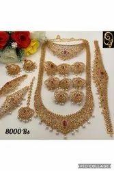 Wedding AD Imitation Necklace Set