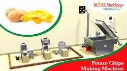 Semi Automatic Potato Chip Line