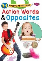2 in 1 My Lovely Board Book Action Words and Opposites