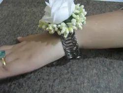 Designer Floral Yellow Color Bracelet Free Size Gift For Her, Women Gift , Romantic Flower Bracelet