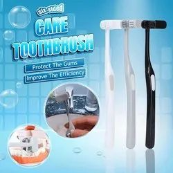 FRS Six-Sided Care U-shaped Soft Bristled Toothbrush Fully Cover