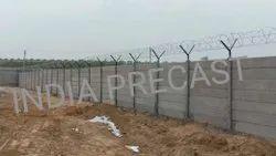 Prestressed Precast Security Wall