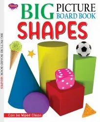Big Picture Board Book Shapes Can Be Wiped Clean