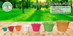 Blossom Plastic Planter